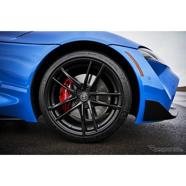 トヨタ GR スープラ の2021年モデルのティザーイメージ