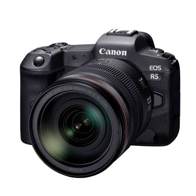 キヤノン、次世代フルサイズミラーレスカメラ「EOS R5」などを開発発表 ...
