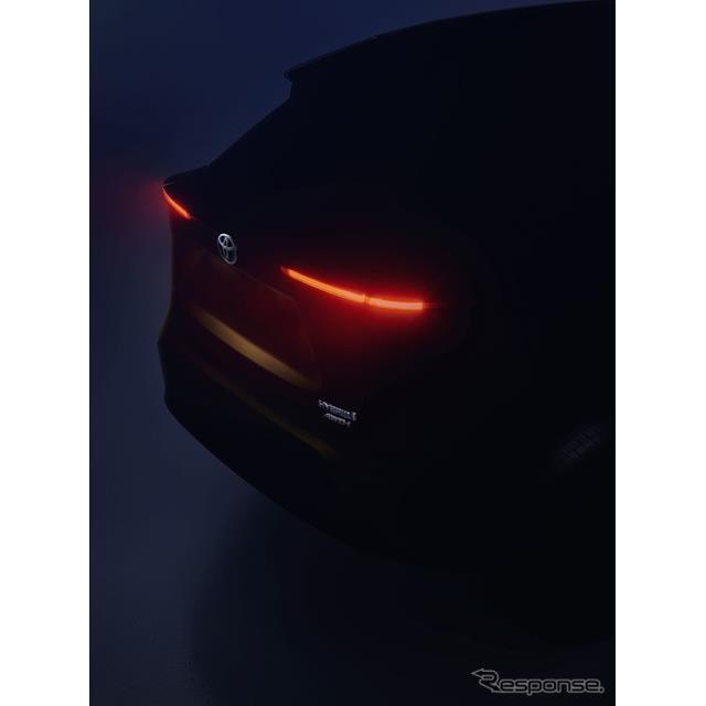 トヨタの新型SUVのティザーイメージ