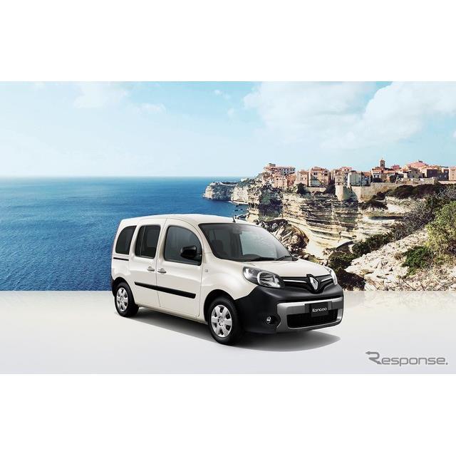 ルノー・ジャポンは、『カングー』に地中海・コルシカ島の街をイメージした特別仕様車「ペイザージュ」を設...