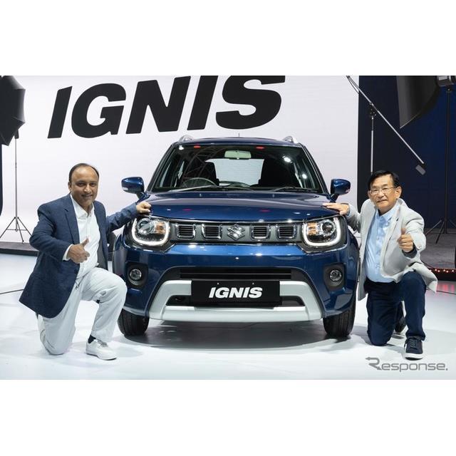 スズキのインド子会社のマルチスズキは2月18日、改良新型『イグニス』(Suzuki IGNIS)をインドで発売した...