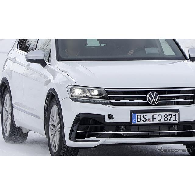 先日、VWのコンパクト・クロスオーバーSUV『ティグアン』改良新型プロトタイプをスクープしたが、今度はそ...