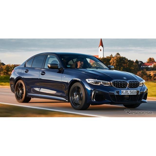 BMWは、3月にスイスで開催されるジュネーブモーターショー2020において、新型『3シリーズ』(BMW 3 Series...