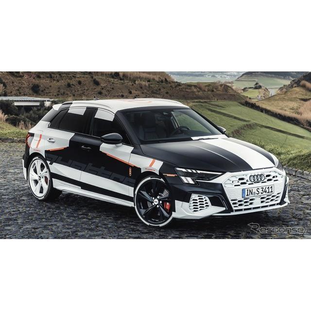 アウディは2月28日、新型『A3スポーツバック』(Audi A3 Sportback)を3月3日、オンラインでワールドプレミ...