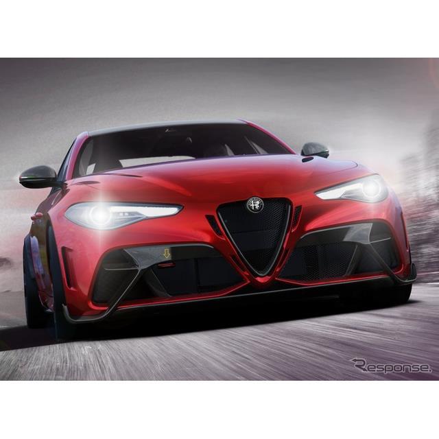 アルファロメオは3月2日、新型『ジュリアGTA』(Alfa Romeo Giulia GTA)を欧州で発表した。  ◆ジュリア...