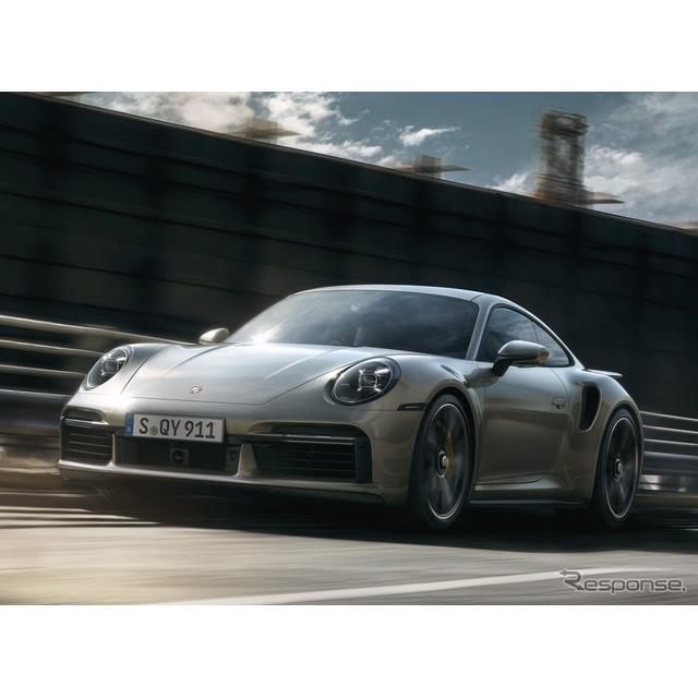 ポルシェは3月3日、新型『911ターボS』(Porsche 911 Turbo S)を欧州で発表した。クーペとカブリオレの2種...