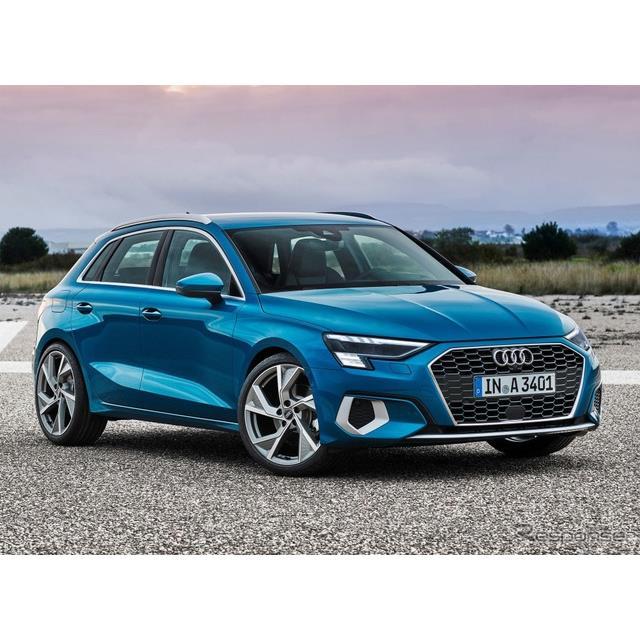 アウディは3月3日、新型『A3スポーツバック』(Audi A3 Sportback)を欧州で発表した。オンラインでワール...