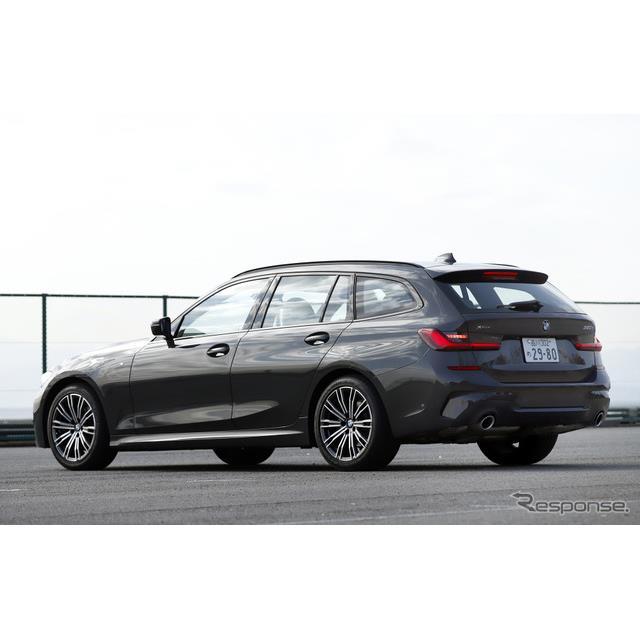 BMW『3シリーズ』にワゴンボディの『3シリーズツーリング』が追加された。価格は494万円から。  新型BMW ...