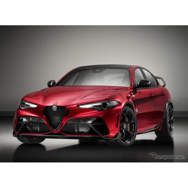 アルファロメオは、新型『ジュリアGTAm』(Alfa Romeo Giulia GTAm)を欧州で発表した。新型車の「ジュリア...
