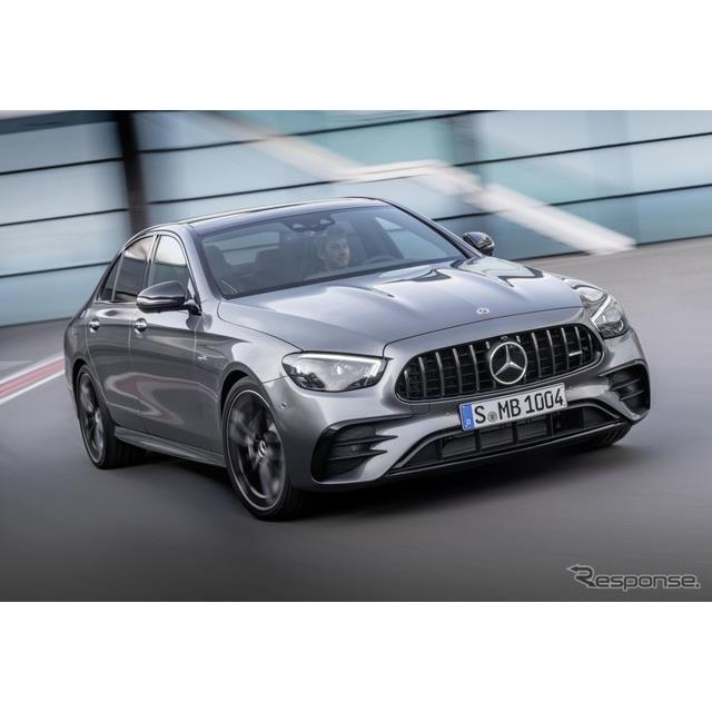 メルセデスベンツの高性能車部門のメルセデスAMGは、改良新型メルセデスAMG『E 53 4MATIC+セダン』(Merced...