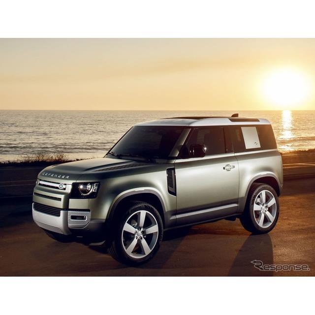 ランドローバーは、新型『ディフェンダー』(Land Rover Defender)のショートボディの受注を欧州で開始し...