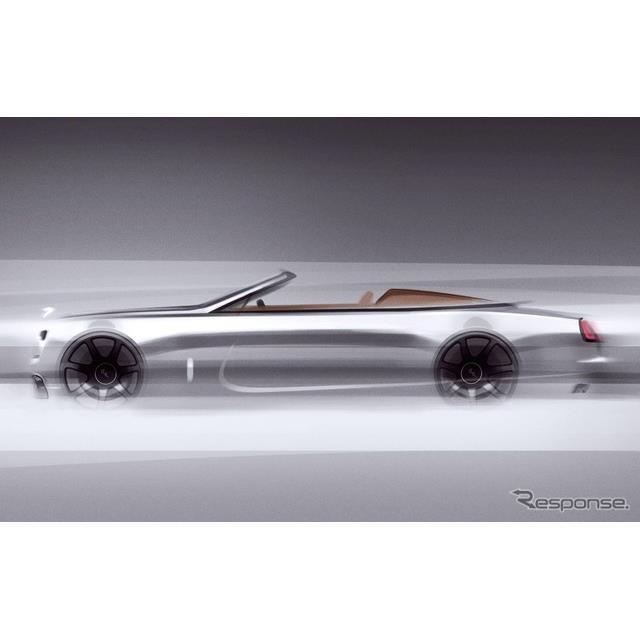 ロールスロイスモーターカーズは3月12日、ロールスロイス『ドーン』(Rolls-Royce Dawn)の「シルバー・バ...