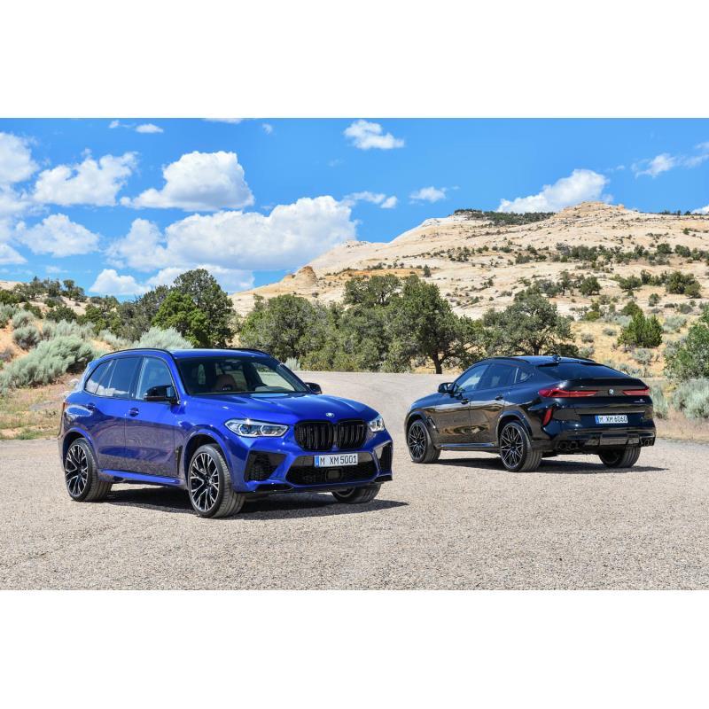 BMWジャパンは2020年3月12日、ハイパフォーマンスSUV「X5 M」「X6 M」の導入を発表し、同日、受注を開始し...
