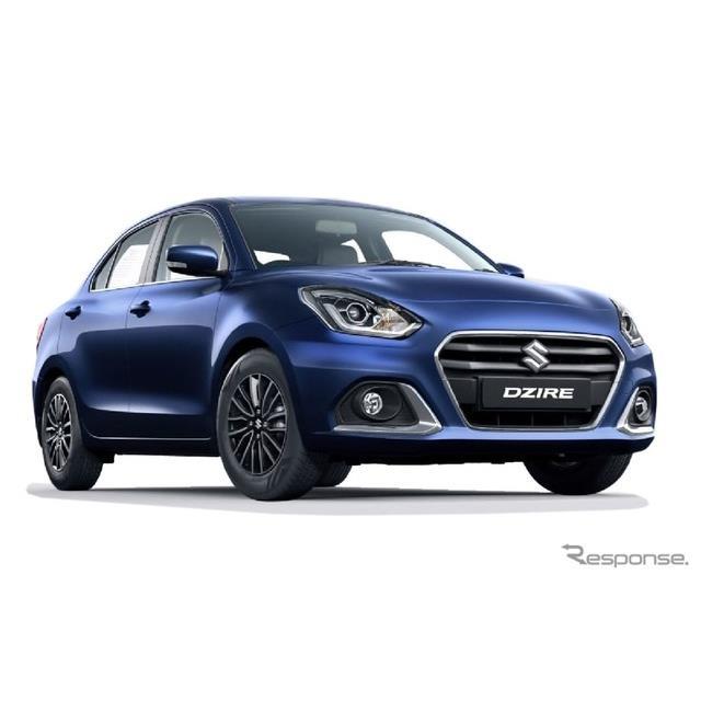 スズキのインド子会社のマルチスズキは、改良新型『ディザイア』(Maruti Suzuki Dzire)をインド市場で発...