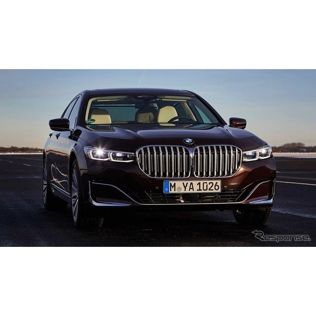 BMWグループ(BMW Group)は、ドイツで開催したデジタル年次記者会見において、次期BMW 『7シリーズ』(BMW...