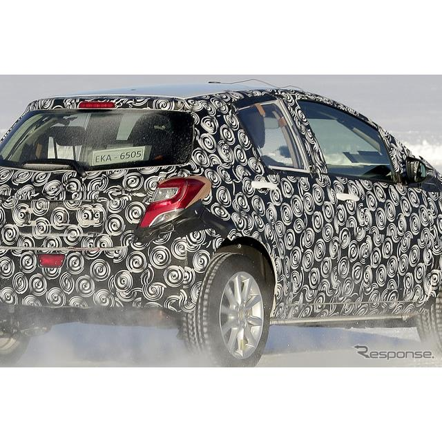 トヨタ 新型コンパクトSUV 開発車両(スクープ写真)