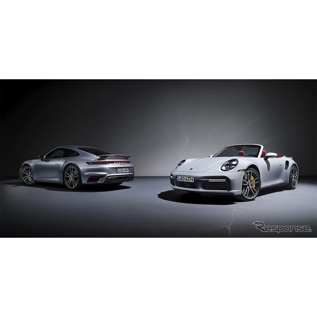 ポルシェジャパンは3月31日、911モデルレンジの最上位モデル『911ターボS』および『911ターボSカブリオレ』...