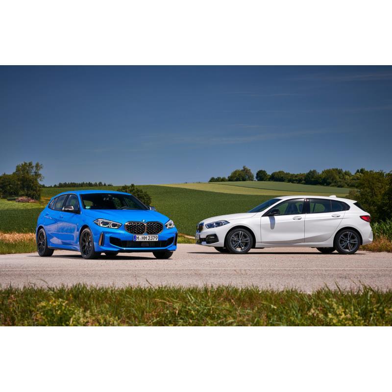 BMWジャパンは2020年4月1日、コンパクトモデル「1シリーズ」にディーゼルエンジン搭載車「118d」を設定し、...