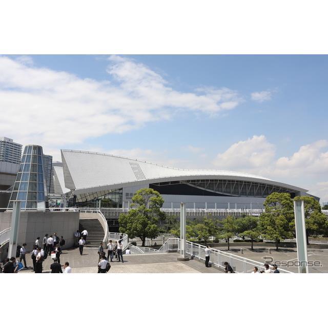 会場のパシフィコ横浜