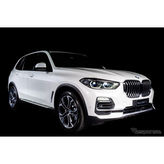BMWはアルカンターラ(Alcantara)とのコラボレーションによる限定車、BMW『X5 タイムレス エディション』...