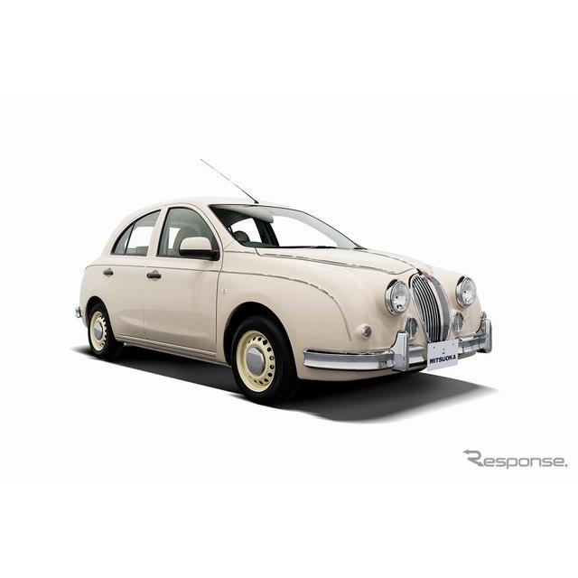 光岡自動車は、コンパクトセダン『ビュート』とハッチバックタイプの『ビュート なでしこ』に特別仕様車「...