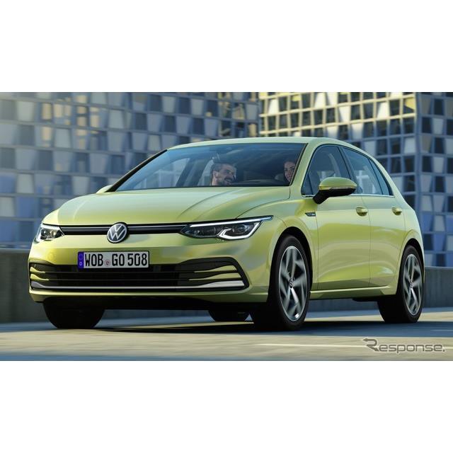 フォルクスワーゲンは、現在開催中のバーチャルモーターショーにおいて、新型『ゴルフ』(Volkswagen Golf...