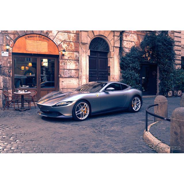 フェラーリは、新型FRクーペ『ローマ』を発表。その名の通り、イタリアはローマからその名をとったローマは...
