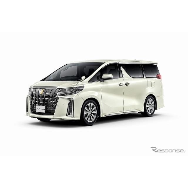 トヨタ自動車は、大型ミニバン『アルファード』に特別仕様車「Sタイプゴールド」を、『ヴェルファイア』に...