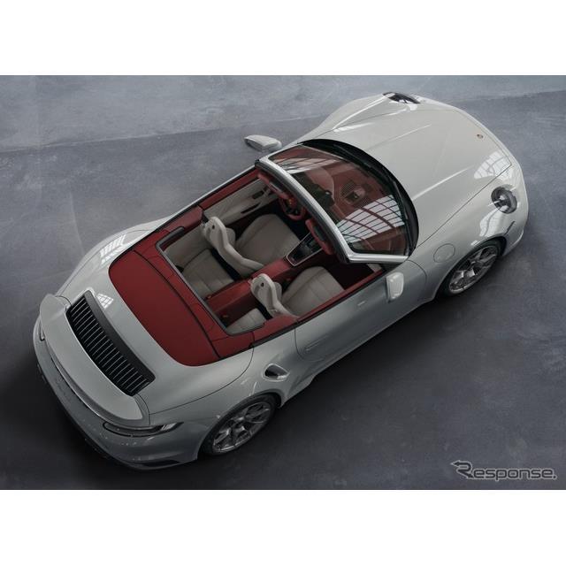 ポルシェは4月20日、カスタマイズプログラムの「ポルシェ エクスクルーシブ」が、欧州向けの新型『911』(P...