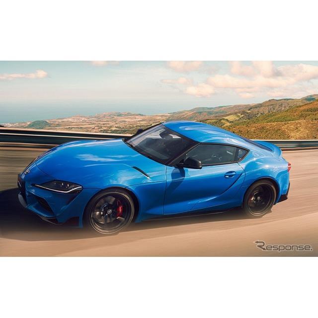 トヨタ自動車は、『スープラ』を一部改良するとともに、特別仕様車「RZホライズンブルーエディション」を設...