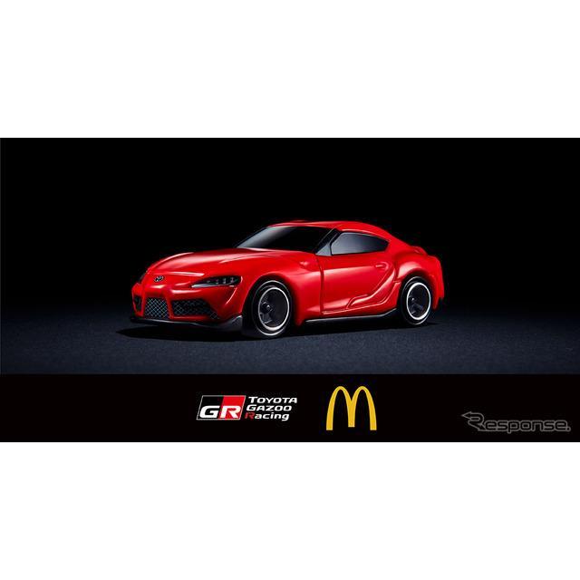 TOYOTA GAZOO RacingとマクドナルドがGWに向けてコラボキャンペーンを実施。5月1日より全国のマクドナルド...