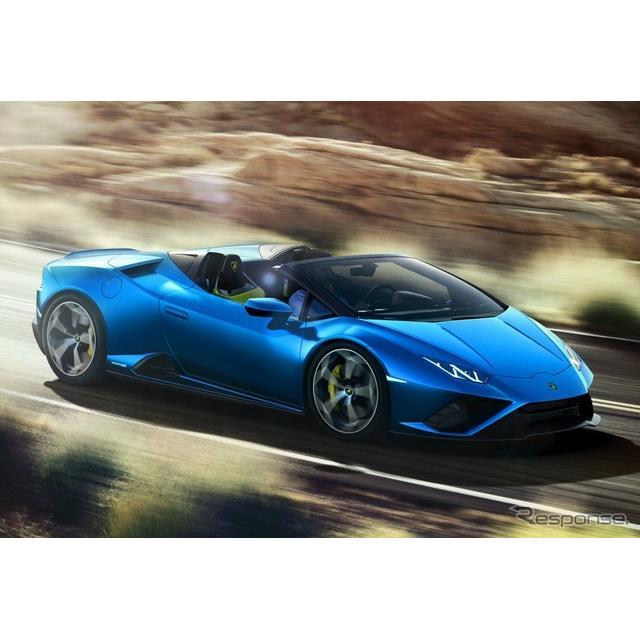 ランボルギーニは5月7日、『ウラカン・エボ RWD スパイダー』 (Lamborghini Huracan EVO RWD Spyder)を欧...