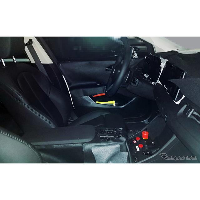 BMW『2シリーズ アクティブツアラー』新型の最新プロトタイプをスクープ班のカメラが捉えた。さらに今回は...