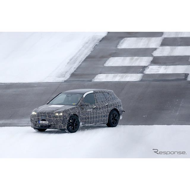 BMW iNEXT 市販型プロトタイプ(スクープ写真)