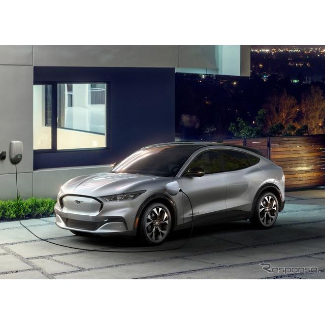 フォードモーターは、2020年後半に米国市場で発売予定のフォード『マスタング』シリーズの新型EV、フォード...