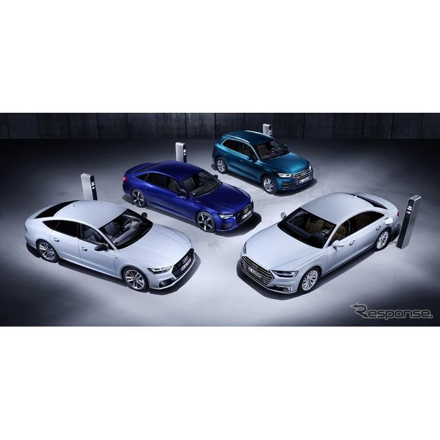 アウディA6新型、A7スポーツバック新型、A8新型、Q5新型のPHV