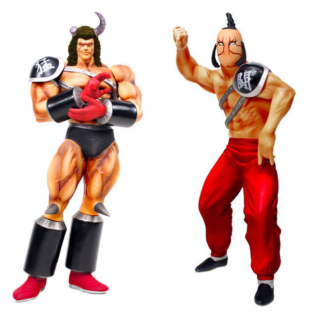 「匠仕様 キャスト製 CCP Muscular Collection」の「バッファローマン」および「モンゴルマン」