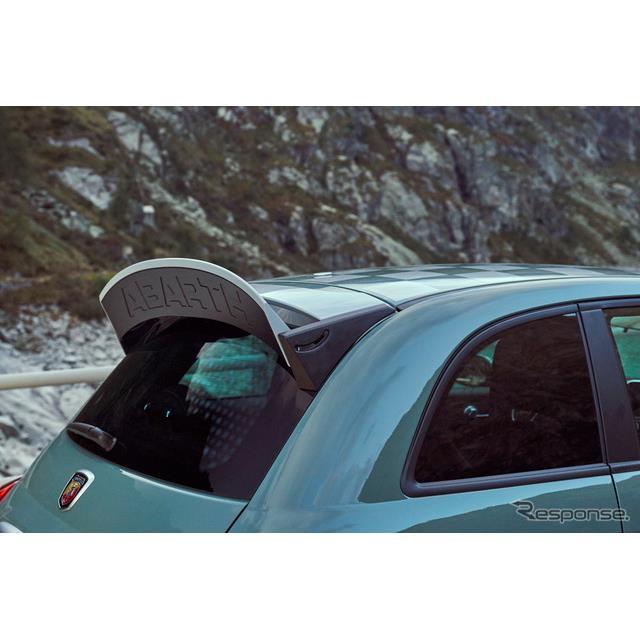 フィアットの高性能車ブランドのアバルトは5月18日、ブランドの70周年を記念する限定車の『695セッタンタ・...