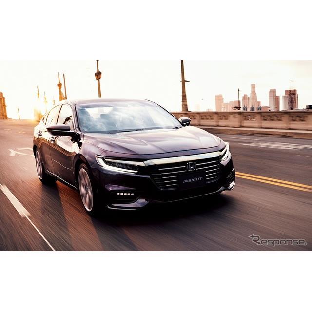 ホンダは、ハイブリッド専用車『インサイト』をマイナーモデルチェンジし、5月29日より発売する。  3代目...