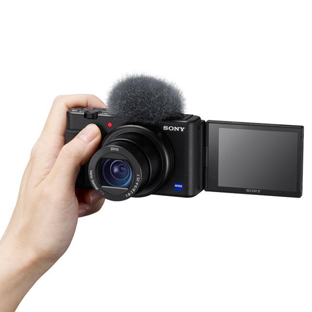 ソニー、Vlog撮影向けデジカメ「VLOGCAM ZV-1」