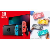 「Nintendo Switch」本体、「Nintendo Switch Lite」本体