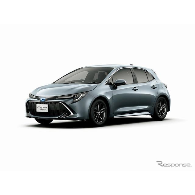 トヨタ自動車は、『カローラスポーツ』に特別仕様車「Gスタイルパッケージ」「ハイブリッドGスタイルパッケ...