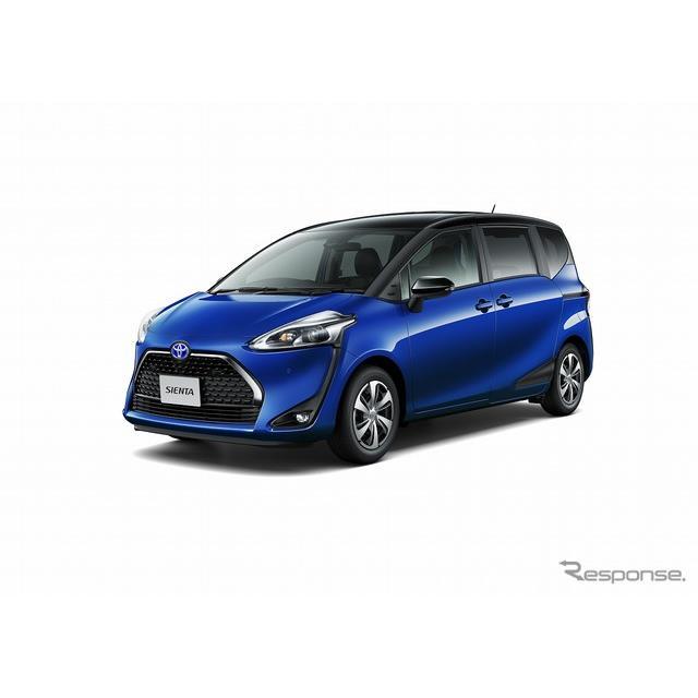 トヨタ自動車は、コンパクトミニバン『シエンタ』を一部改良するとともに、2列シート車に新グレード「ファ...