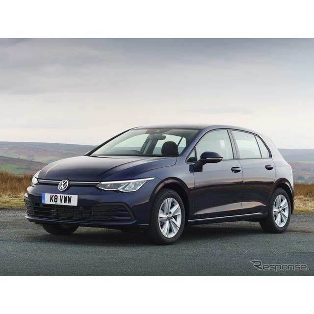 フォルクスワーゲンは、新型『ゴルフ』(Volkswagen Golf)の欧州仕様車に、1.0リットル直列3気筒ガソリン...