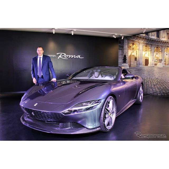 フェラーリ・ジャパンはフロントにV型8気筒エンジンを搭載した2+クーペの『ローマ』を発表。2682万円で販売...
