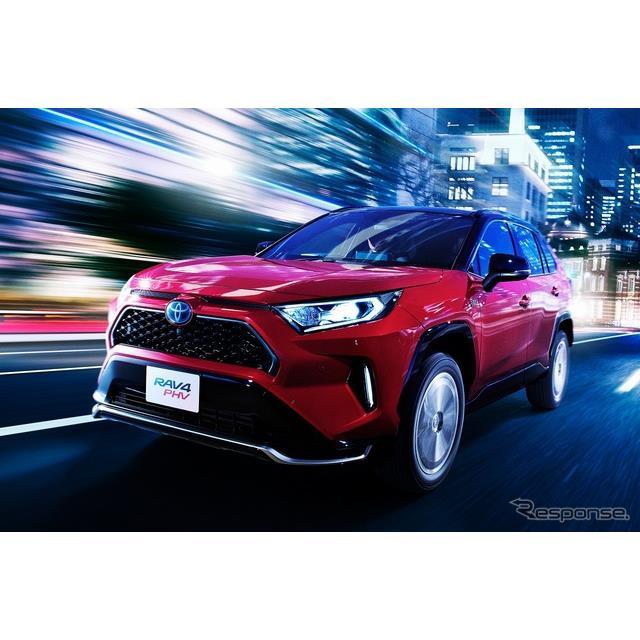 """トヨタ自動車は、同社初のプラグインハイブリッドSUV『RAV4 PHV』を6月8日より発売した。「G」「G """"Z""""」..."""
