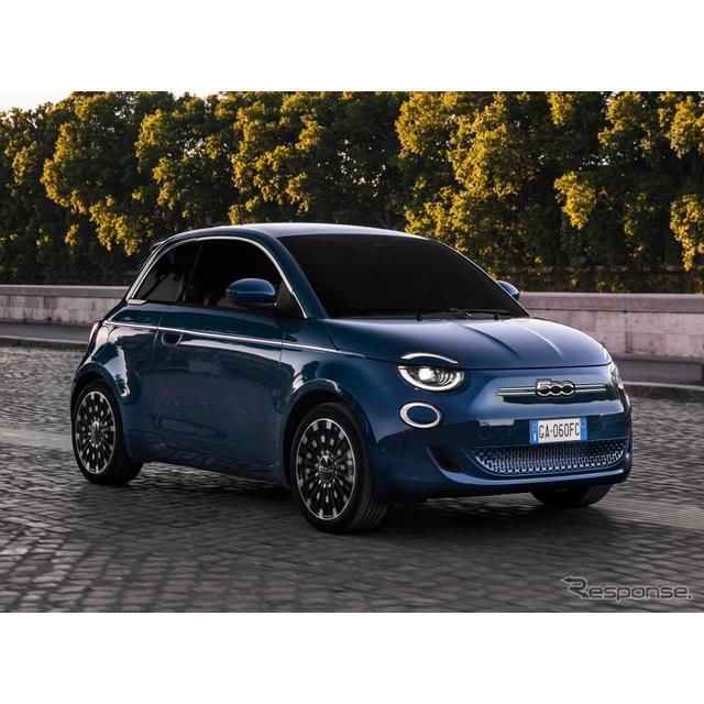フィアットは6月8日、新型『500』(Fiat 500)の「ハッチバック」を欧州で発表した。オープンバージョンの...