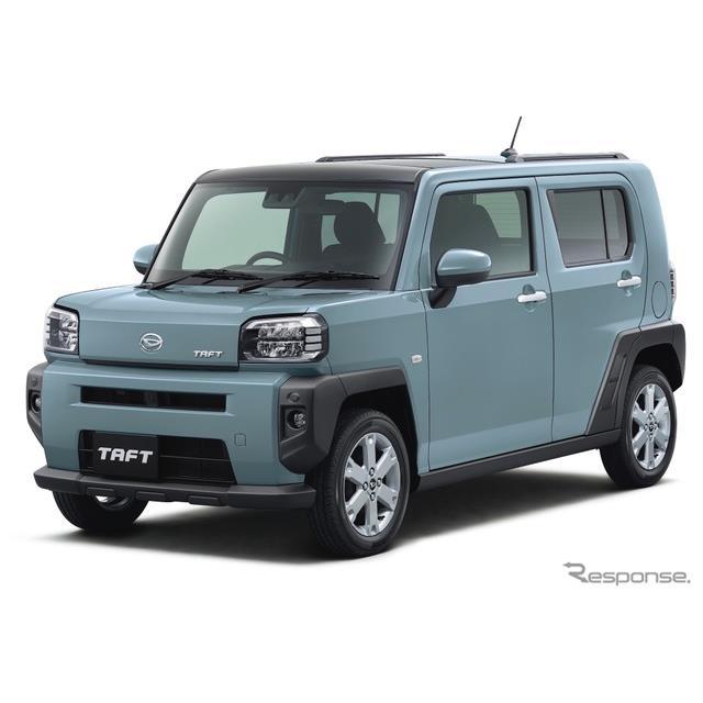 ダイハツ工業は、新型軽クロスオーバー『TAFT(タフト)』を6月10日から全国一斉に発売する。タフトは、TAF...