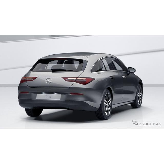 メルセデスベンツは6月8日、新型『CLAシューティングブレーク』(Mercedes-Benz CLA Shooting Brake)のプ...
