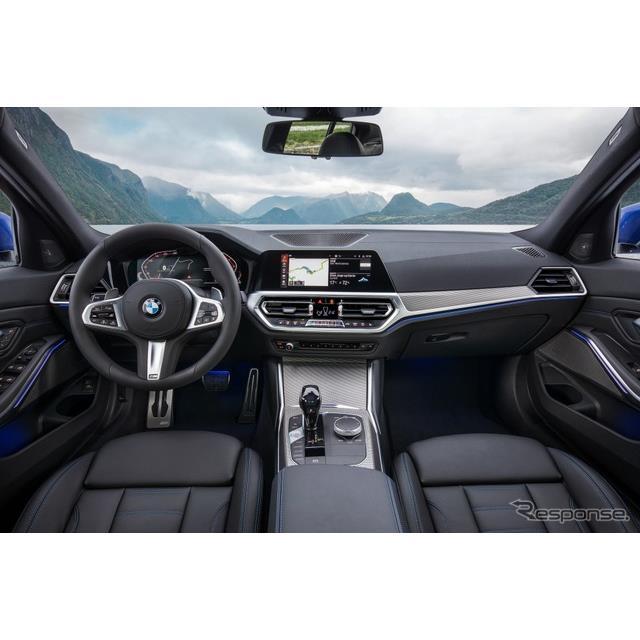 BMW は今夏から、欧州向けの新型『3シリーズ セダン』(BMW 3 Series Sedan)と新型『3シリーズ ツーリング...
